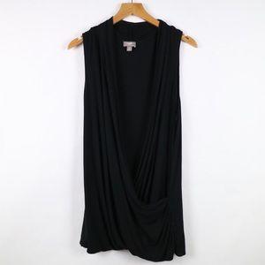 J.Jill black wearever collection sleeveless top XL